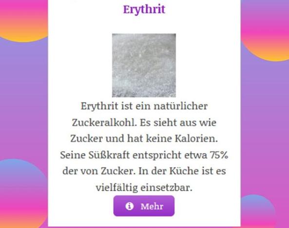 Erythrit Gesundheitsrisiko